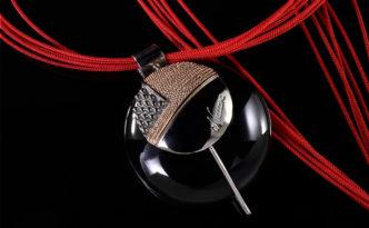 Pendente-Shala-Argento-925-Rodiato-con-particolari-in-filigrana-e-granulazione-e-Onice-tondo-30-mm---Shala
